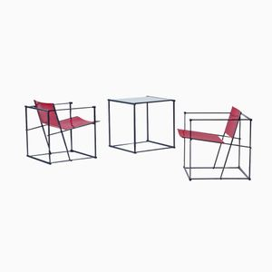 FM60 Living Room Set by Radboud Van Beekum for Pastoe, 1980s