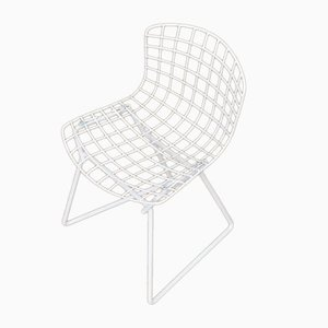 Vintage Children's Chair by Harry Bertoia for Knoll