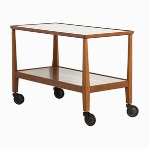 Mid-Century Oak Trolley
