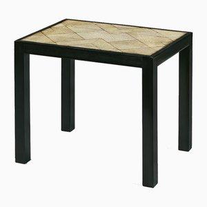 Kleiner Beistelltisch mit Tischplatte aus Rochenhaut von Pierre Legrain, 1920er