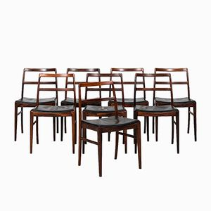 Model 430 Dining Chairs by Arne Vodder for Sibast, 1950s, Set of 8