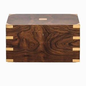 Dänische Palisander Humidor Box, 1950er