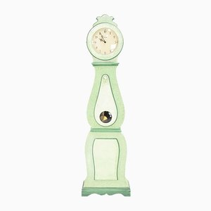 Green Vintage Swedish Clock