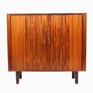 Danish Rosewood & Brass Cabinet, 1960s