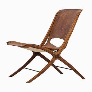 X-Chair von Peter Hvidt & Orla Mølgaard-Nielsen für Fritz Hansen, 1950er