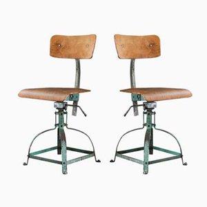 Sedie da architetto Studio 204 di Bienaise, anni '60, set di 2