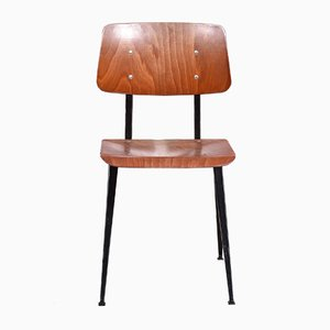 Niederländischer Industrieller S16 Schichtholz Stuhl von Galvanitas, 1960er