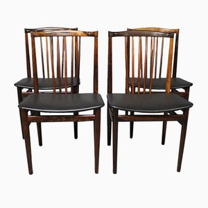 Dining Chairs by Henning Sørensen, 1968, Set of 4
