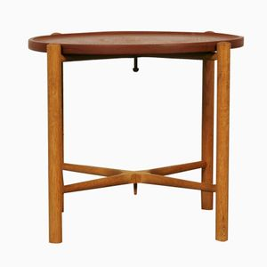 AT35 Folding Table by Hans J. Wegner for Andreas Tuck, 1960s