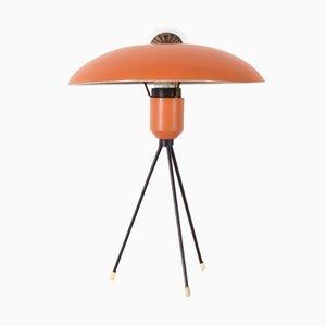 Niederländische Dreibein Tischlampe von Louis Kalff für Philips, 1950er