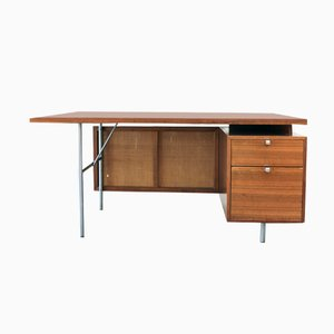 Mid-Century Floating Executive Desk by George Nelson for Herman Miller