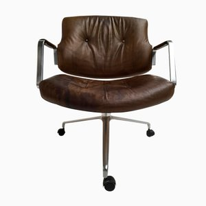 Swivel Chair FK-83 by Preben Fabricius & Jorden Kastholm for Kill International, 1960s