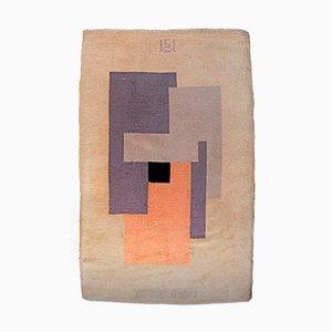 Handgeknüpfter Teppich von Ivan da Silva Bruhns für Manufacture de Savigny, 1920er