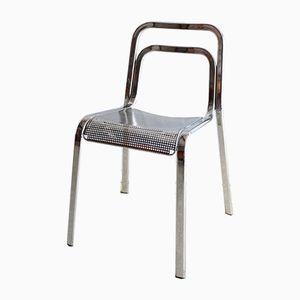 Vintage Italian Chrome Chair