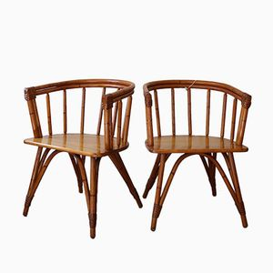 Mid-Century Ashcraft Armchairs from Heywood Wakefield, Set of 2