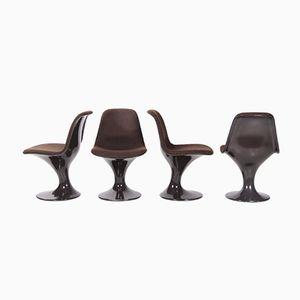 Orbit Stühle von Markus Farner und Walter Grunder für Vitra, 1960er, 4er Set