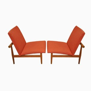 Mid-Century Japan Chairs by Finn Juhl for France & Søn, Set of 2