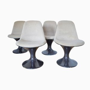 Orbit Chairs by Farner & Grunder for Herman Miller, 1970s, Set of 4
