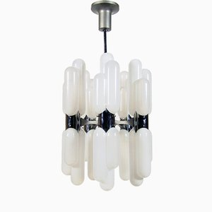 Torpedo Chandelier by Carlo Nason for Mazzega, 1960s