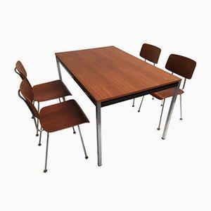 Chaises Modèle 1263 et Table de Salon par A.R. Cordemeyer pour Gispen, 1960s
