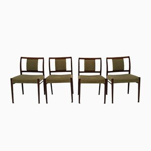 Chaises de Salon en Palissandre par Johannes Andersen pour Uldum, 1950s, Set de 4