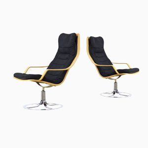 T213 Swivel Chairs from Göte Möbler, 1970s, Set of 2