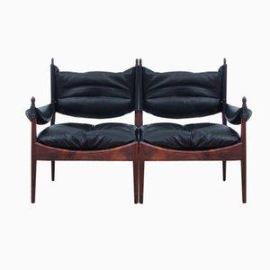 Mid-Century Modern Danish Two-Seater Sofa by Kristian Vedel for Soren Willadsen, 1963