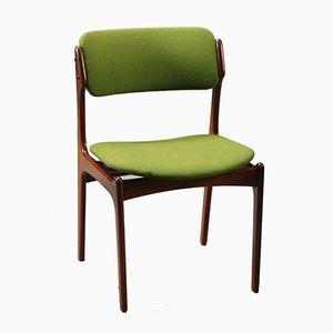 Chaise de Salle à Manger Modèle 49 en Palissandre par Erik Buch pour Odense Maskinsnedkeri, 1960s