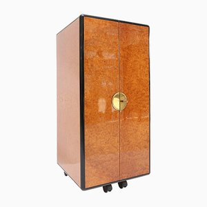 Burl Cocktail Cabinet, 1970s