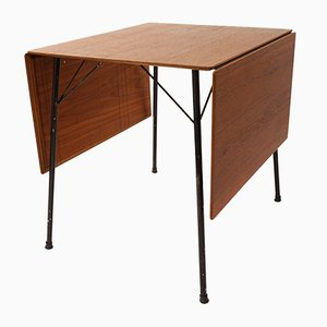 Mid-Century Model 3601 Folding Table by Arne Jacobsen for Fritz Hansen