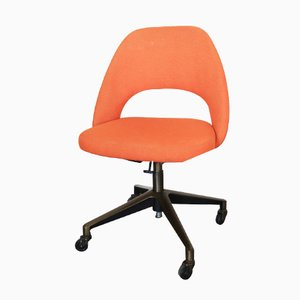 Vintage Executive Swivel Chair by Eero Saarinen for Knoll, 1970s