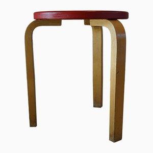 Modell 60 Hocker von Alvar Aalto für Artek, 1950er