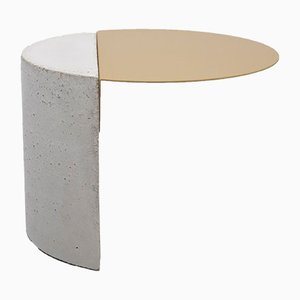 Tavolino Colouring Table dorato di OS ∆ OOS