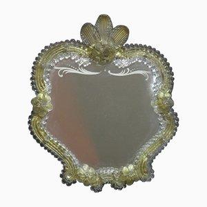 Murano Glas Tischspiegel, 1950er