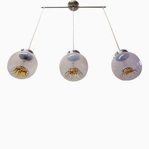 Ceiling Light with 3 Pendants from Mazzega