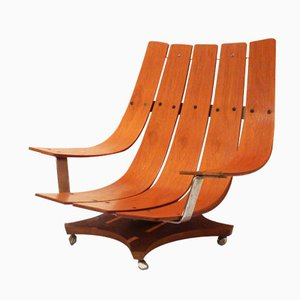 Model G Plan Teak Lounge Chair by Ib Kofod Larsen, 1970s