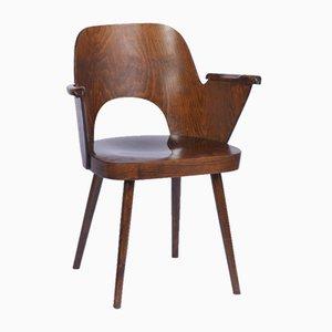Chair with Armrest by Oswald Haerdtl for TON, 1960s