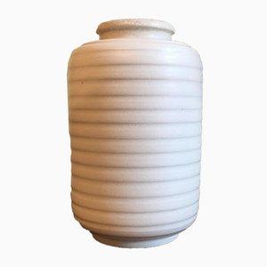 Vase Vintage Carrara en Grès par Wilhelm Kåge pour Gustavsberg