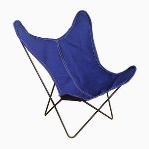 Blauer Butterfly Sessel von Artek Pascoe