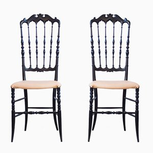 Chiavari Chairs by Giuseppe Gaetano, 1970s, Set of 2