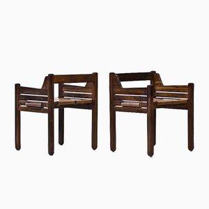 Mid-Century Palisander Stühle von Jean Gillon für Wood Art, 2er Set