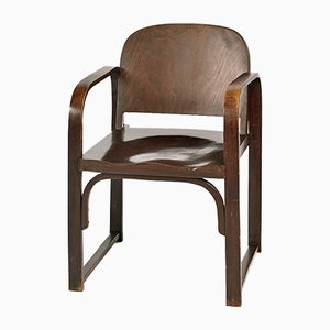Vintage Modell A 745 F Bugholz Stuhl von Thonet