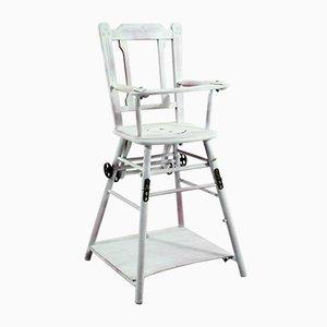 Chaise d'Enfant Haute Antique