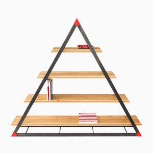 NOON Triangular Bookcase by Dozen Design
