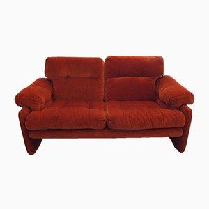 Zwei-Sitzer Coronado Sofa von Tobia Scarpa für B&B Italia, 1970er