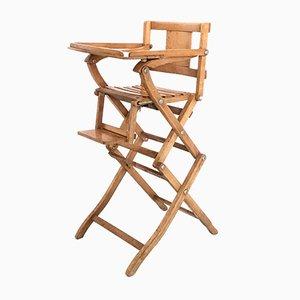 Chaise d'Enfant en Hêtre de Fratelli Reguitti, Italie, 1950s