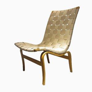 Eva Lounge Chair by Bruno Mathsson for Karl Mathsson, 1941