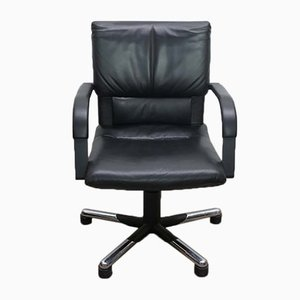 Leather Office Armchair by Mario Bellini for Vitra, 1995