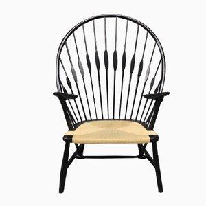 Vintage Peacock Chair by Hans J. Wegner, 1980s