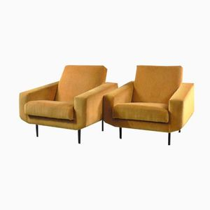 Armchairs by Joseph André Motte, 1950s, Set of 2